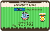 Pokémon Shuffle Opportunities - Blastoise Competitive Stage