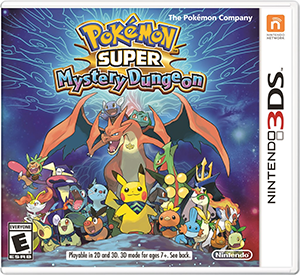 Pokémon Super Mystery Dungeon Box Art