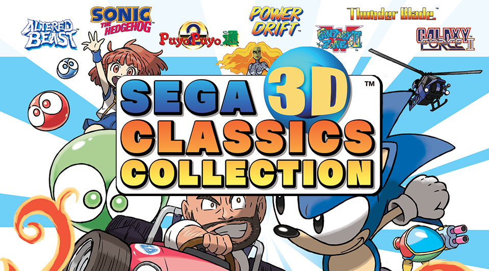 Bringing It Back to the Old School With the  SEGA 3D Classics Collection!