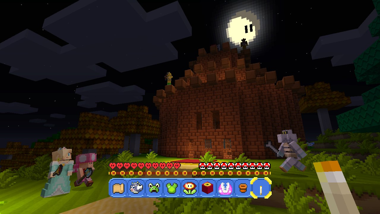 Super Mario Mash-Up Pack for Minecraft: Wii U Edition Announced