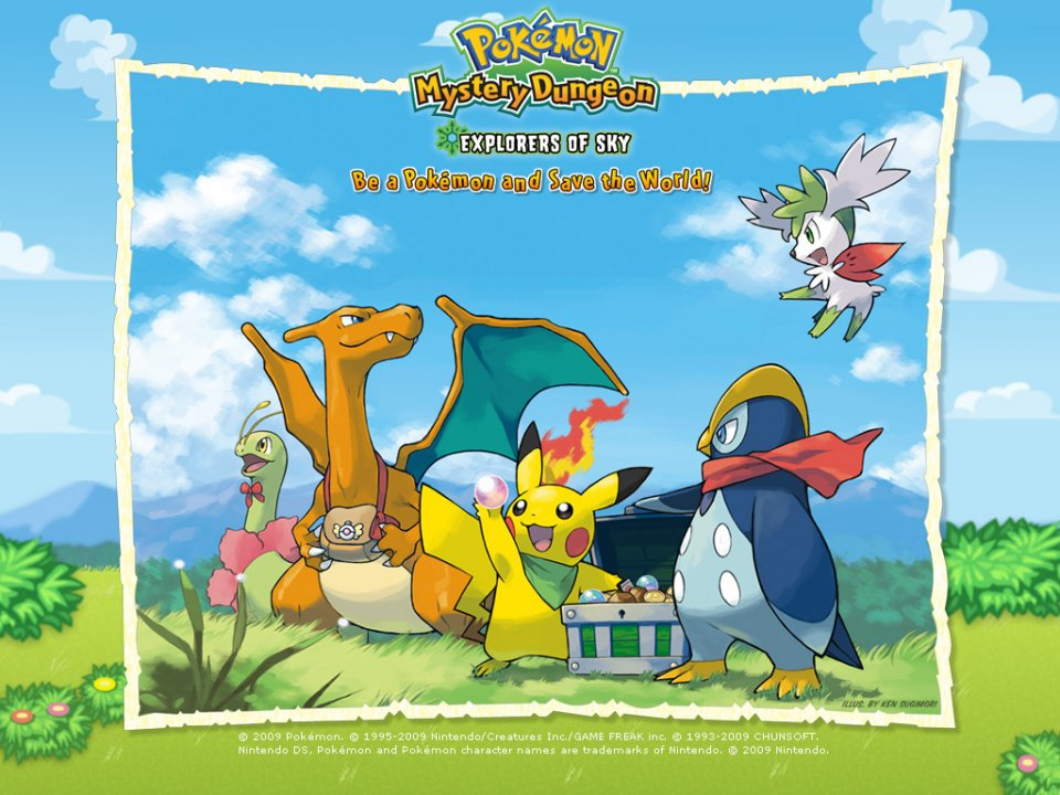 New Pokémon games on the Wii U Virtual Console service beginning 6/23