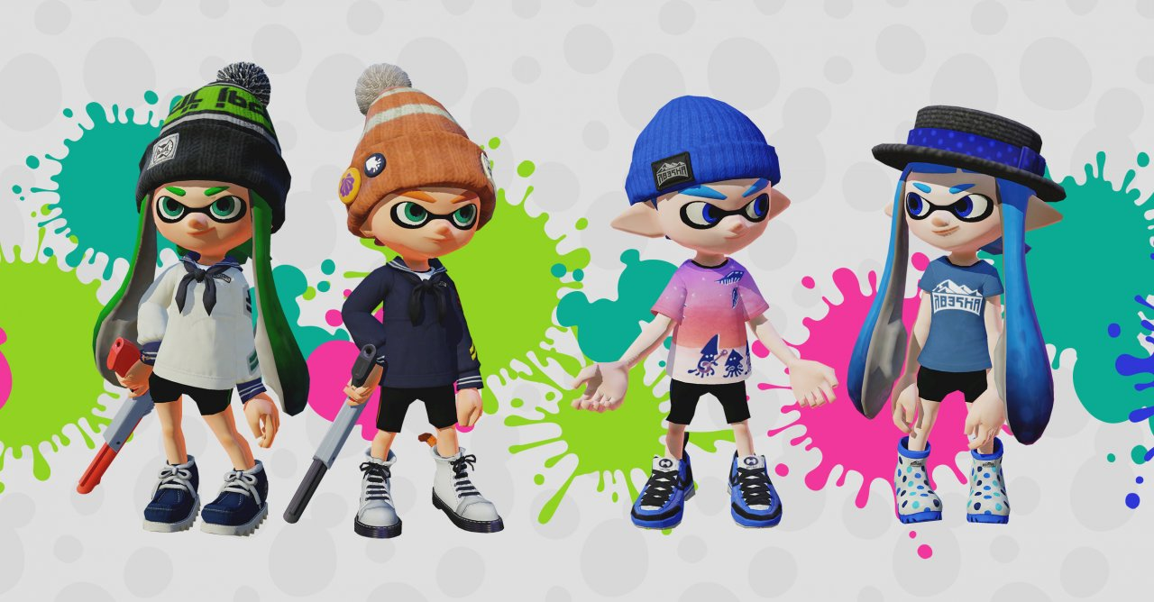 Experience the Ink-Blasting, Squid-Transforming Wii U Game for Free!