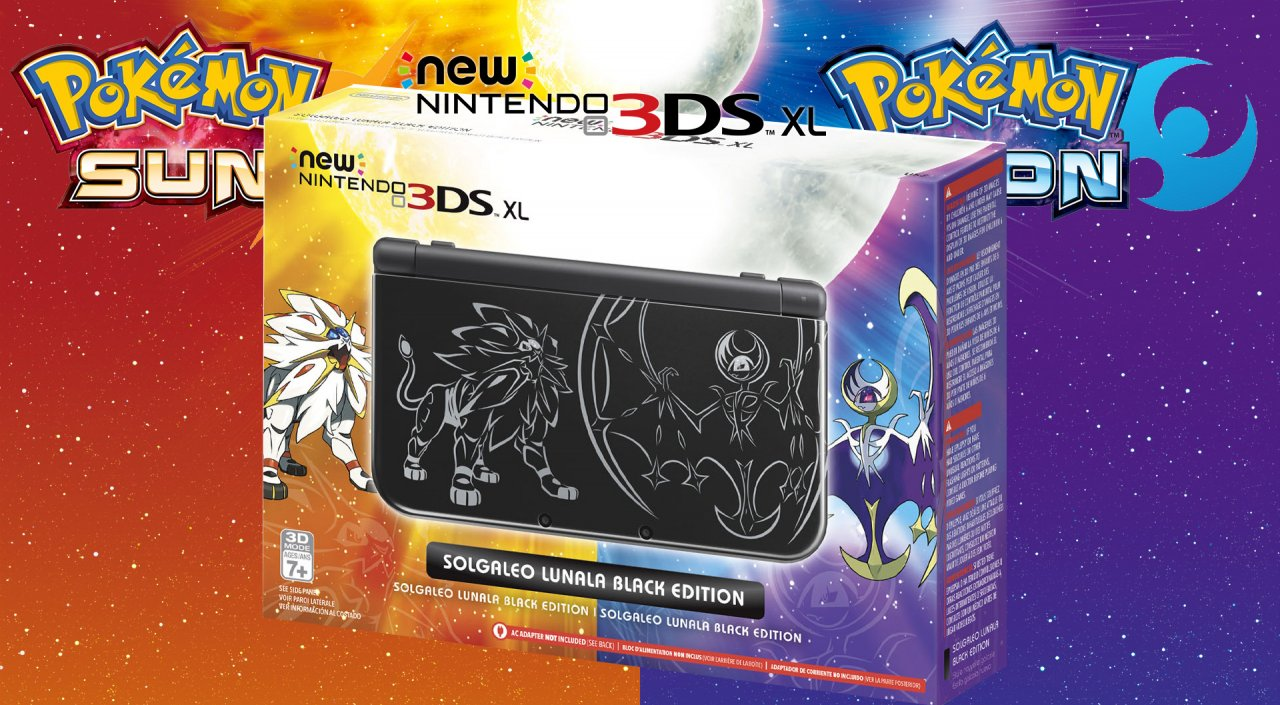 Pokémon Sun & Pokémon Moon New Nintendo 3DS XL Due Oct 28