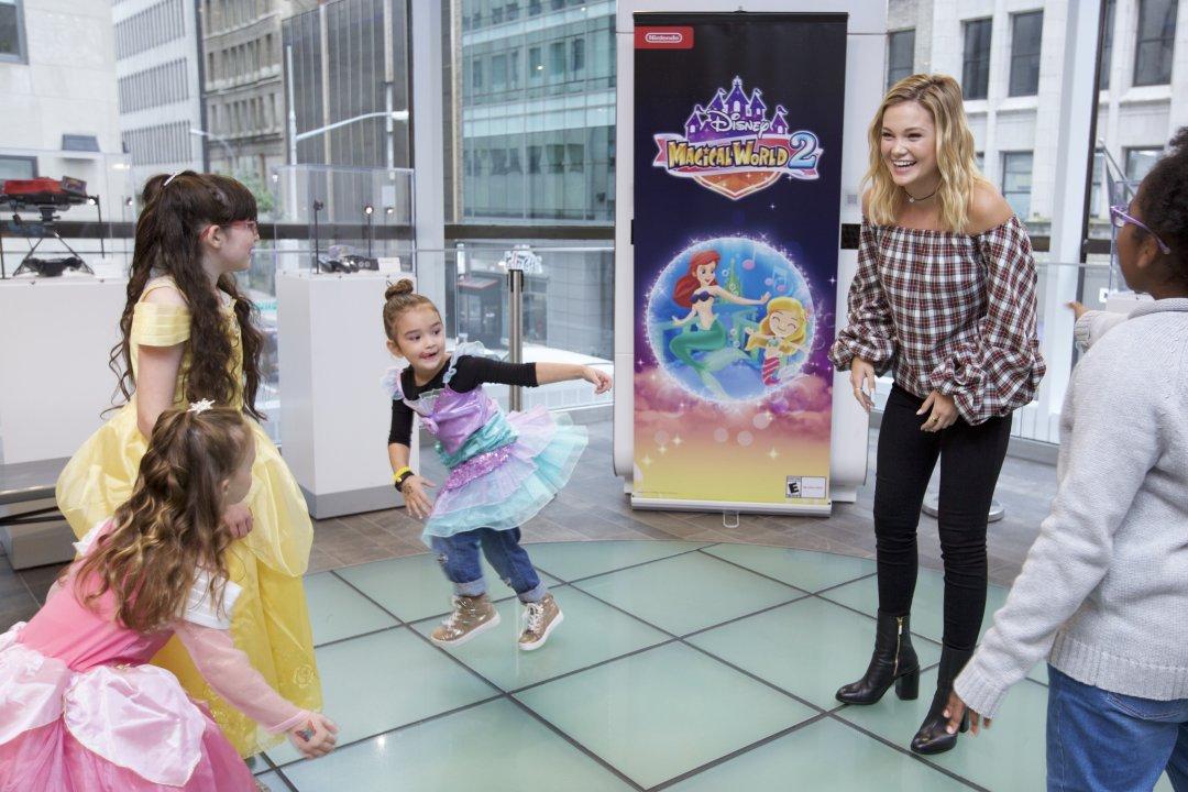 PHOTOS: Nintendo and Olivia Holt Celebrate the Disney Magical World 2 Game
