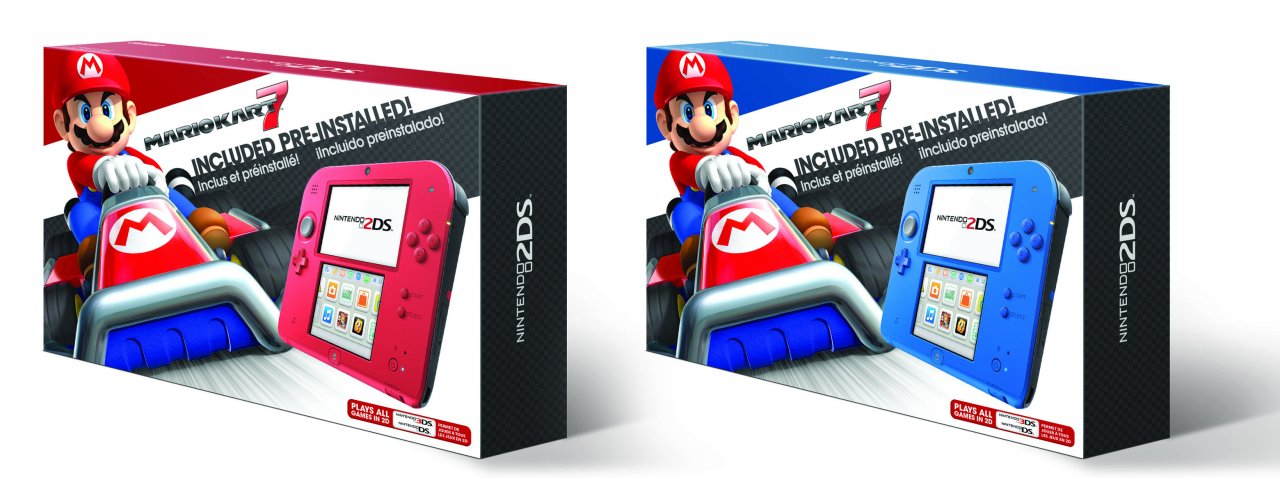 Nintendo announces that the 2DS's current color scheme will be changed