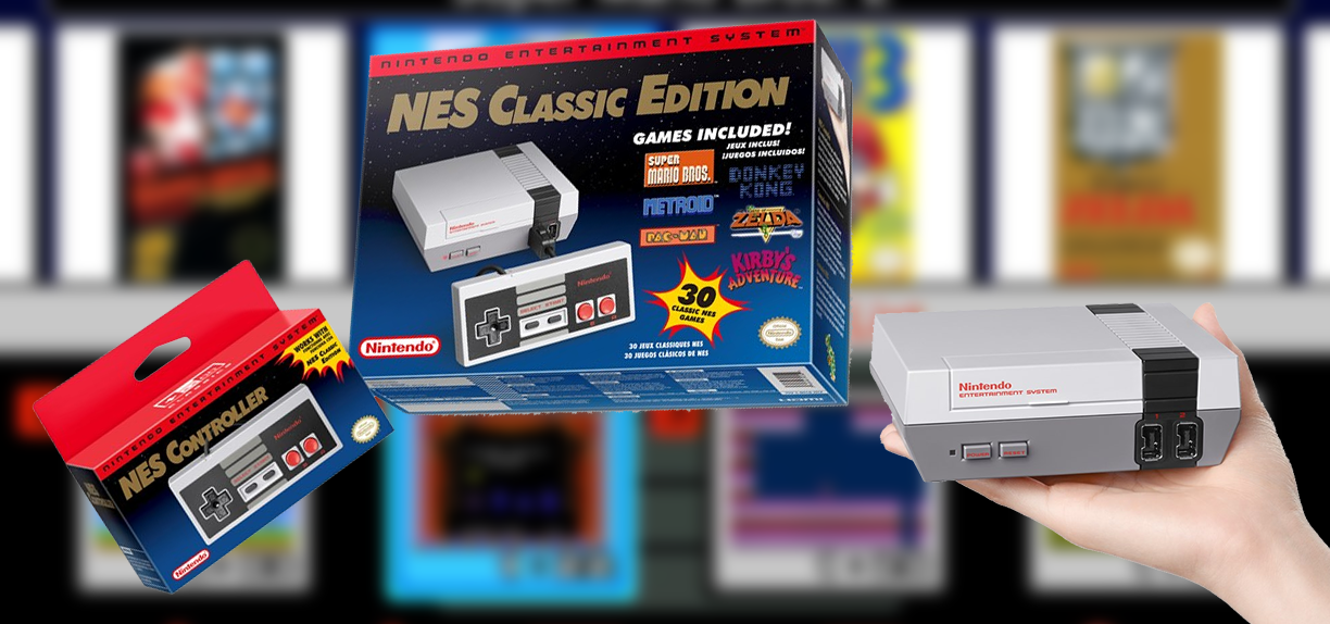 Celebrate the Launch of the NES Classic Edition