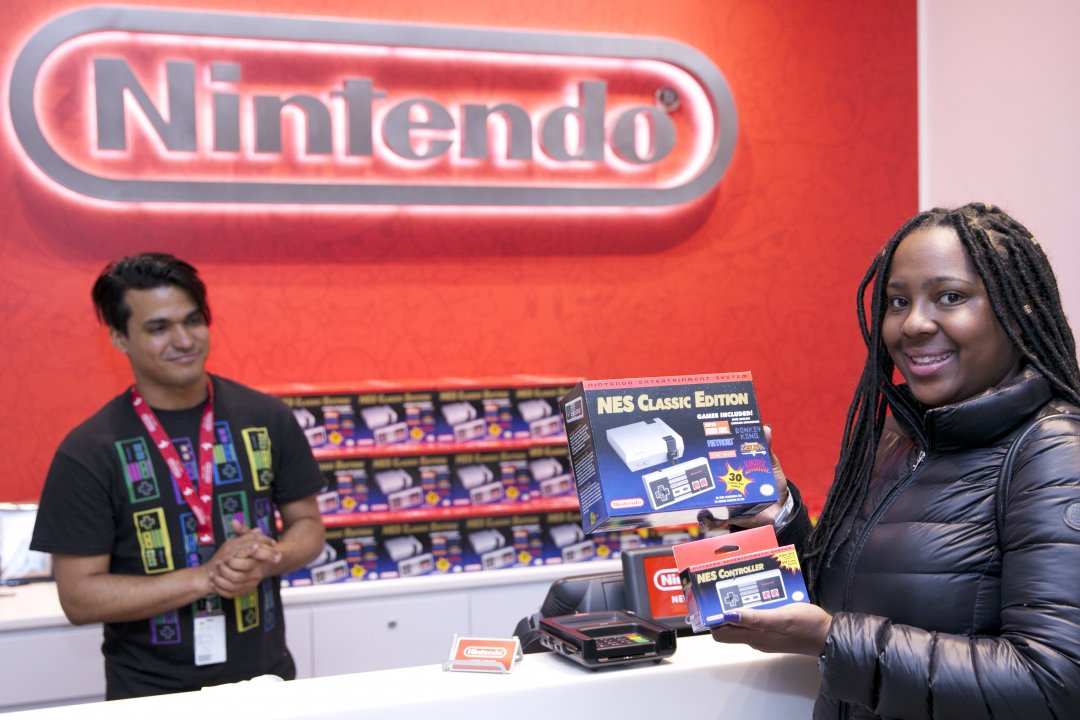 Photos: NES Classic Edition Launch Party at Nintendo NY