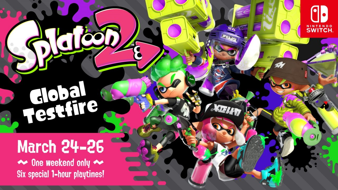 Nintendo Switch Owners Get Free Preview of Splatoon 2 During Global Testfire