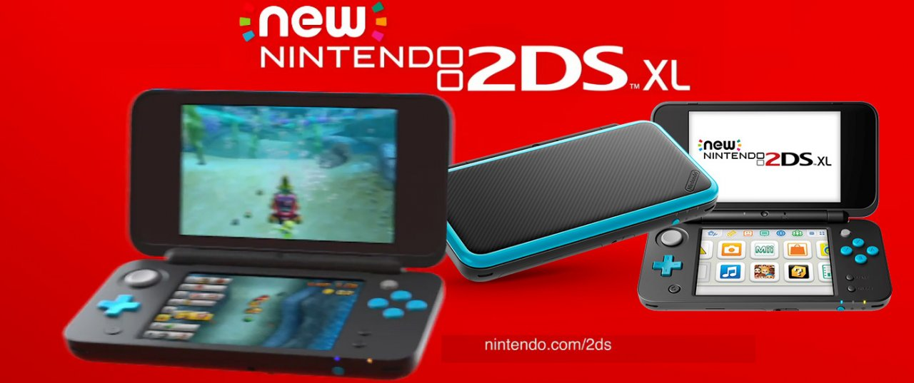 Nintendo to Launch New Nintendo 2DS XL Portable