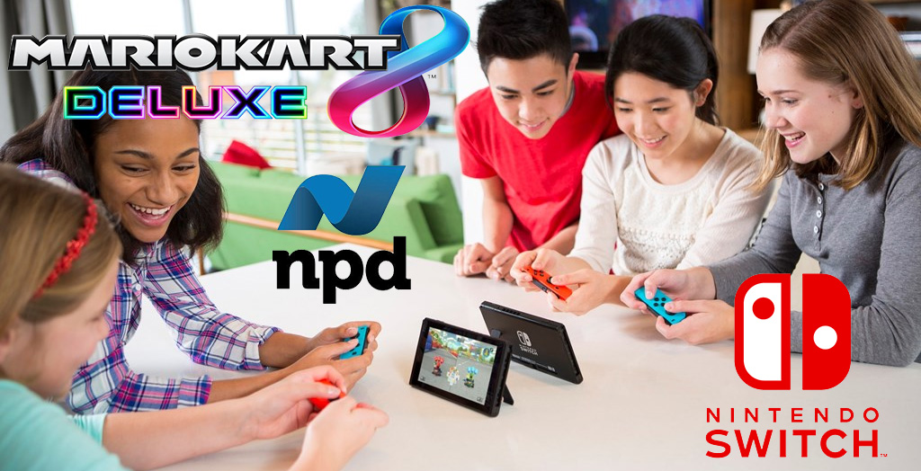 NPD Group Reports Nintendo as Top Seller in April