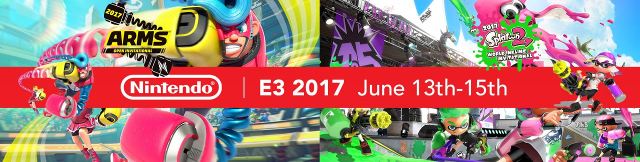 Splatoon 2 and ARMS E3 Tournaments Announced!