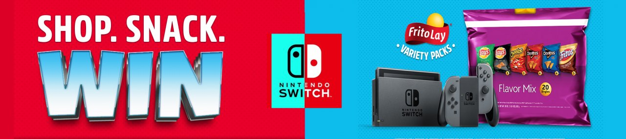 Frito-Lay Gives Away Nintendo Switch System and Games