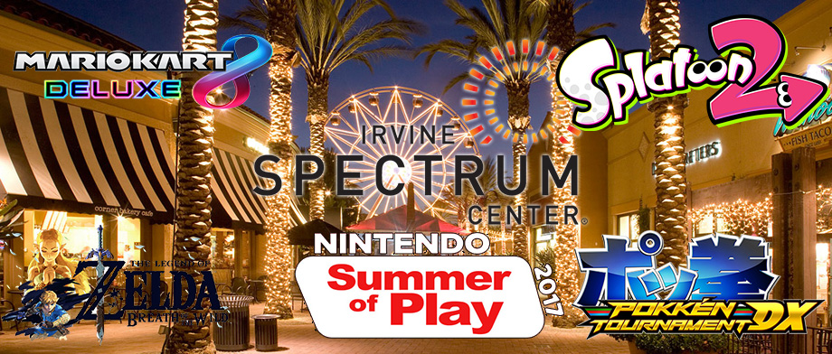 Nintendo Brings Games to the Irvine Spectrum Center