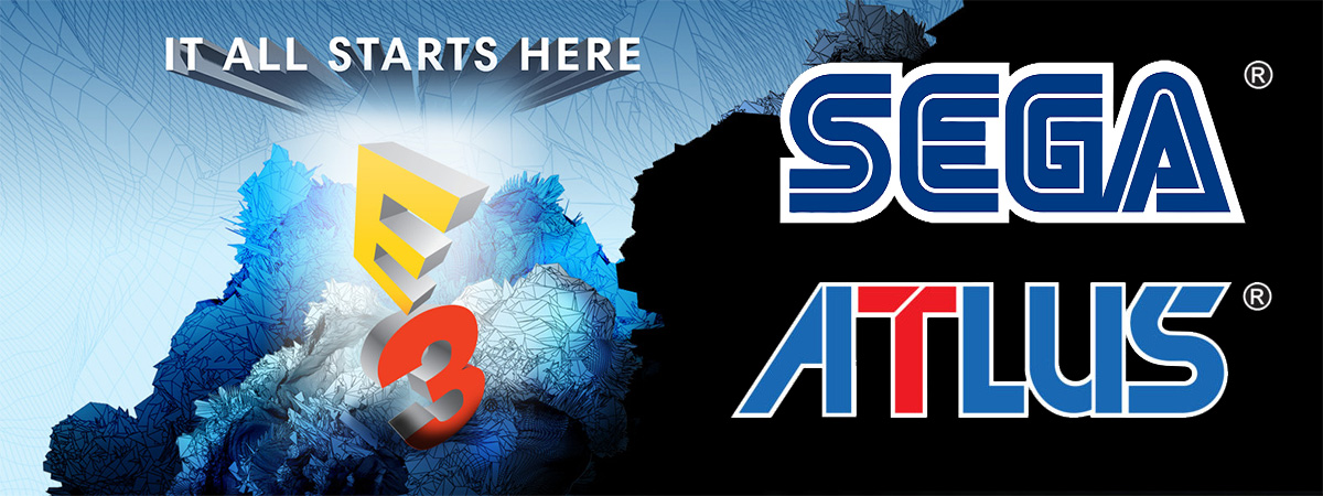 SEGA and ATLUS Announce E3 2017 Line-Up