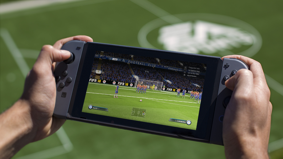Full Details Revealed for EA SPORTS FIFA 18 Built for Nintendo Switch