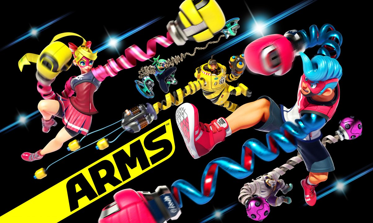 Revolutionary New Fighting Game ARMS Now Available for Nintendo Switch