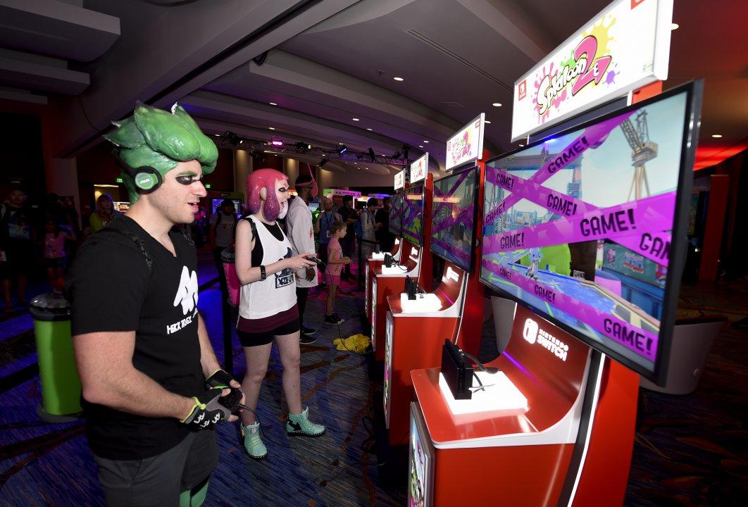 PHOTOS: San Diego Comic-Con Splatoon 2 Cosplay and Nintendo Lounge