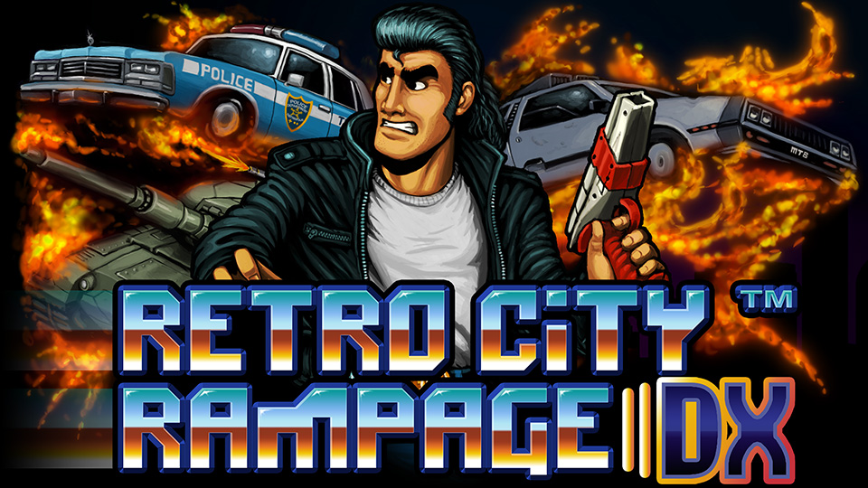 Nintendo Download, Aug. 3, 2017: Go on a Rampage with Retro Classics