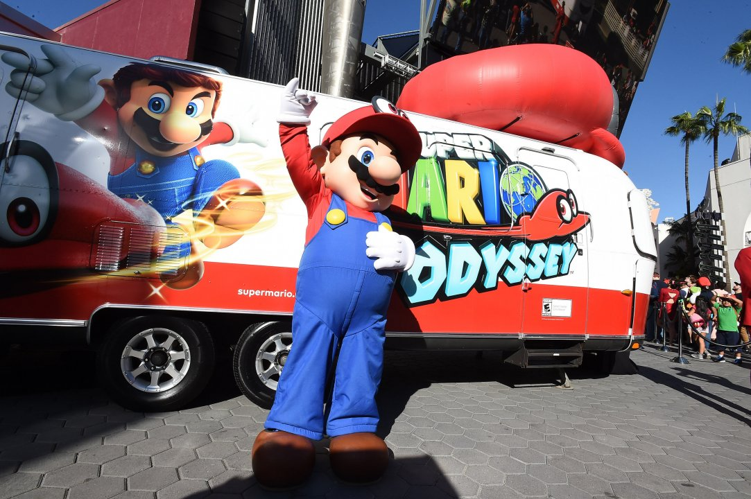 Media Alert: Meet Mario as He Travels Across the Country to Celebrate Super Mario Odyssey