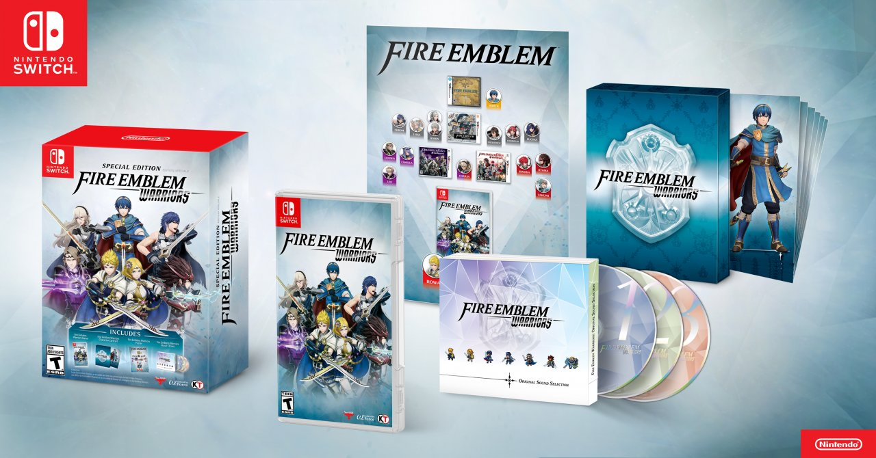 Fire Emblem Warriors for Nintendo Switch and New Nintendo 3DS Launches on Oct. 20