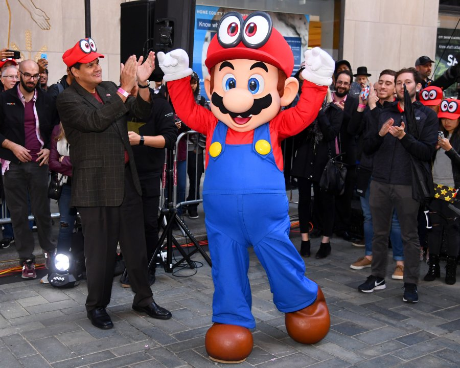 Celebrate the Launch of Super Mario Odyssey In Style