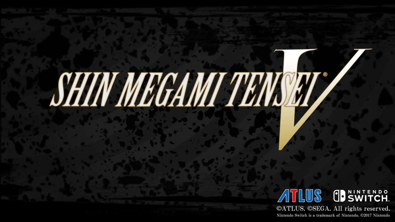 Shin Megami Tensei V Announced for the West on Nintendo Switch