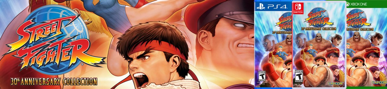 Celebrate the 30th Anniversary of Street Fighter