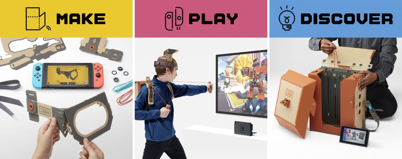 Nintendo Labo Combines the Magic of Nintendo Switch with the Fun of DIY Creations