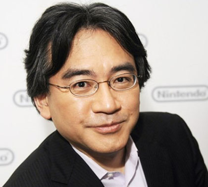 Satoru Iwata, president and CEO of Nintendo
