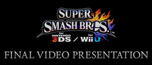 final Nintendo Direct dedicated to the Super Smash Bros. for Nintendo 3DS and Wii U games