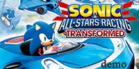 sonic all stars racing demo