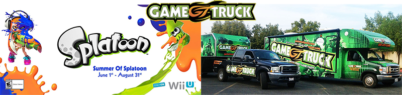 GameTruck and Splatoon