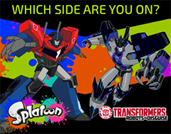 Splatoon TRANSFORMERS Splatfest