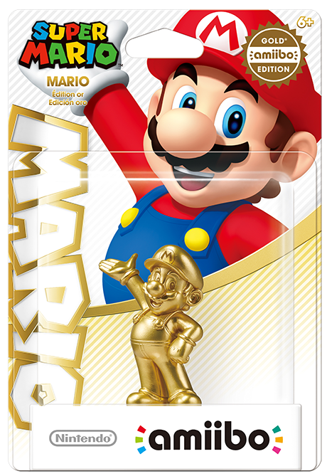 Super Mario amiibo—Gold Edition