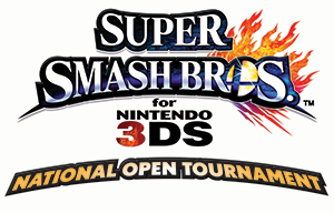 Super Smash Bros. for Nintendo 3DS National Open Tournament Logo