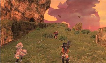 Xenoblade Chronicles 3D Screenshot
