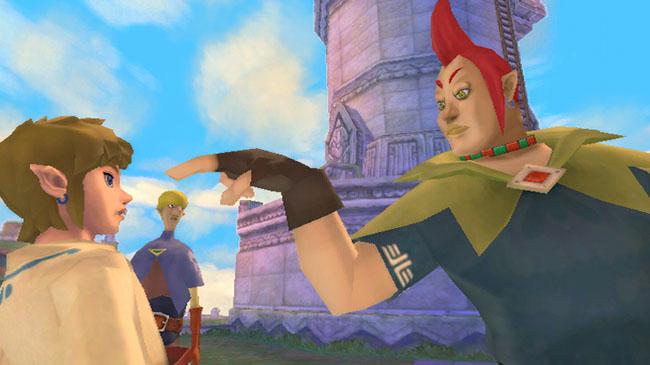 The Legend of Zelda™: Skyward Sword Screenshot