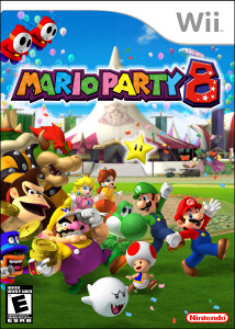 Mario Party 8 - Boxart